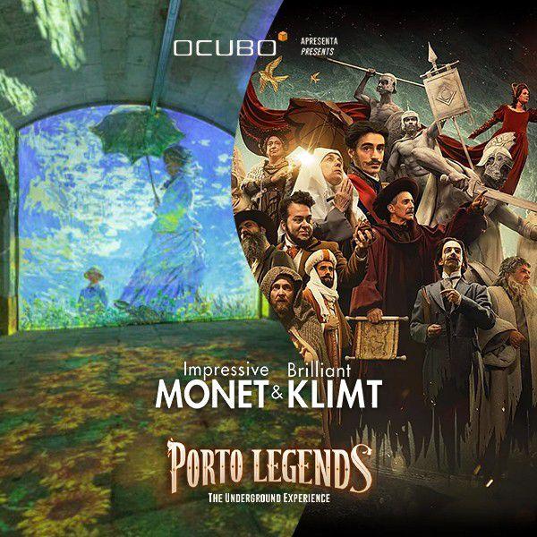 Monet e Klimt – exposição na Alfândega